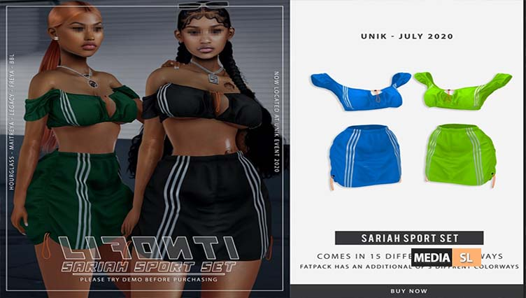 LIFONTI – Sariah Sport Set – NEW