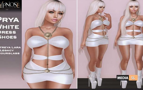 HYPNOSE – PRYA WHITE OUTFIT  – NEW