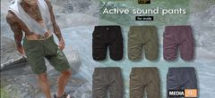 ACTIVE SOUND PANTS – NEW MEN