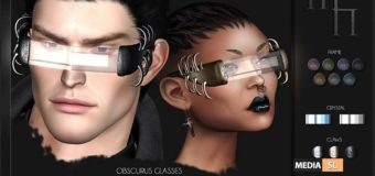 Obscurus Glasses by Madame Noir – NEW