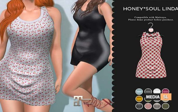 Honey*Soul Mini onepiece Linda – NEW