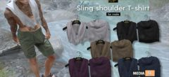SLING SHOULDER T-SHIRT – NEW MEN