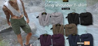 SLING SHOULDER T-SHIRT – NEW MEN