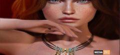 KUNGLERS – Elisiane necklace – NEW