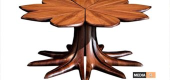 Kenya Wenge Wood Coffee Table  – NEW DECOR