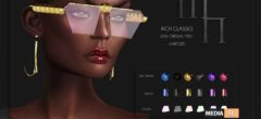 Rich Glasses by Madame Noir @Ebento – NEW