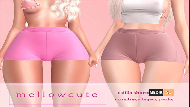 mellowcute-csiilla shorts// accsess event – NEW