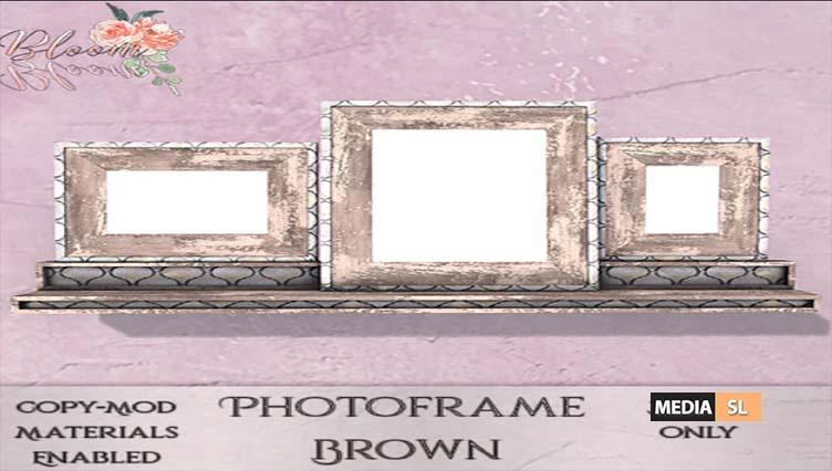 Bloom! – Photoframe SilverAD – NEW DECOR