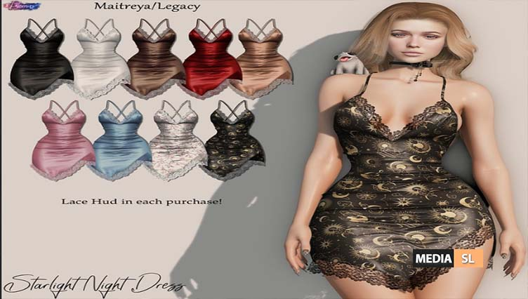 Starlight Night Dress – NEW