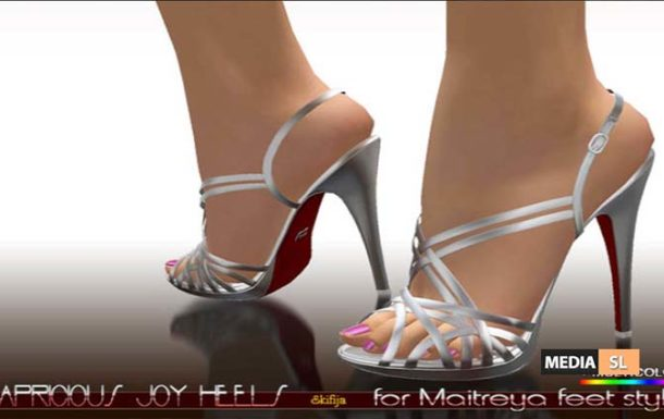 Capricious Joy heels for Maitreya – NEW