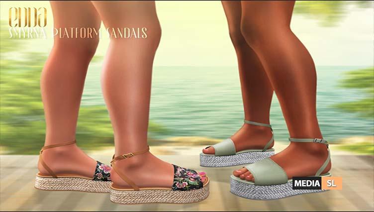 Smyrna Platform Sandals – NEW