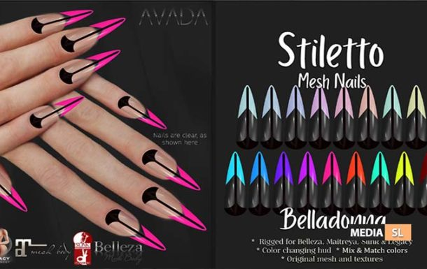 Stiletto Nails Belladonna – NEW