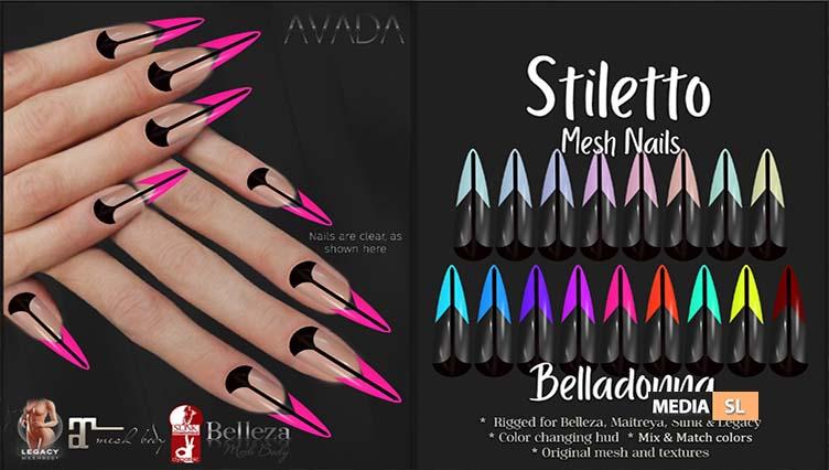 Stiletto Nails Belladonna – NEW
