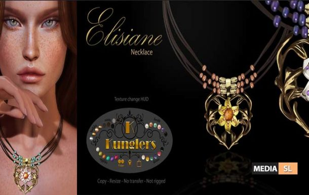 KUNGLERS – Elisiane necklace – NEW