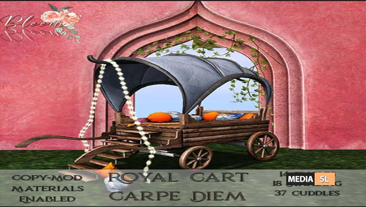 Bloom! – Royal Cart Carpe DiemAD1 – NEW DECOR