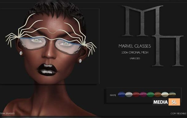 Marvel Glasses by Madame Noir – NEW