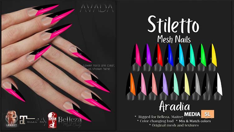 Stiletto Nails Aradia – NEW