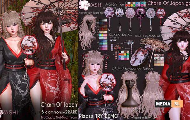 [^.^Ayashi^.^] Charm of Japan  – GACHA