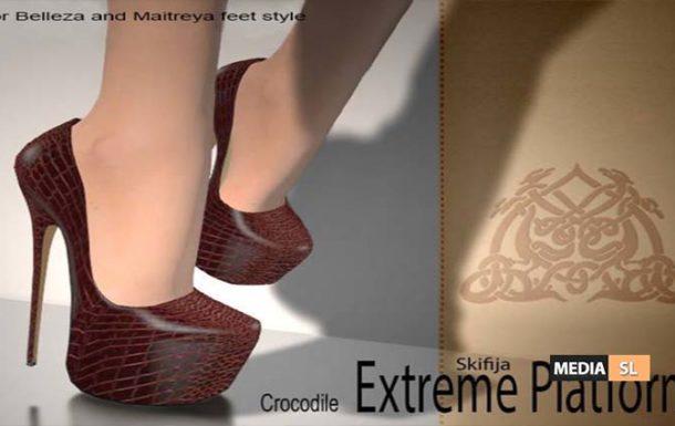 Skifija Extreme Platform Crocodile  – NEW