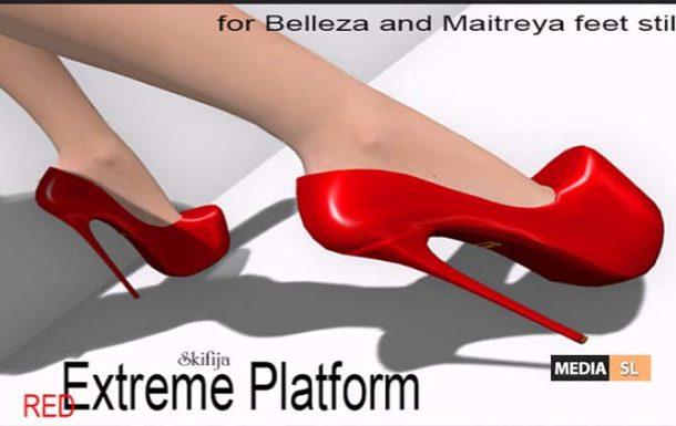 Extreme Platform RED Belleza and Maitreya – NEW