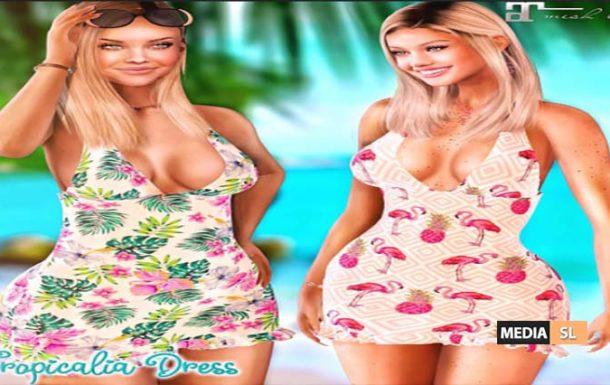 !New! Tropicalia Dress by .BananaS.  – NEW