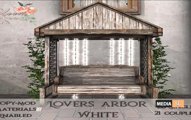 Bloom! – Lovers arbor – NEW DECOR