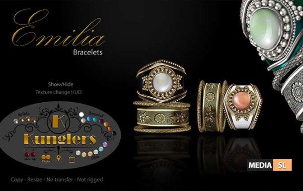 KUNGLERS – Emilia bracelet – NEW