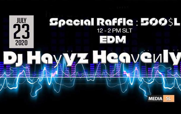 Party with ƊĴ – Haуÿz Hèàνëиlÿ @ MEDIA SL SHOPPING DISTRICT !! – Show
