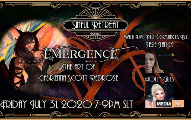 "Sinful Retreat Presents: ""Emergence"" – Show"
