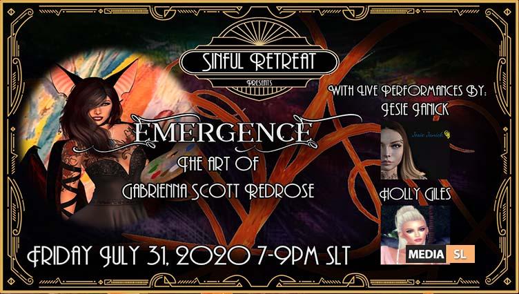 "Sinful Retreat Presents: ""Emergence"" – Show"