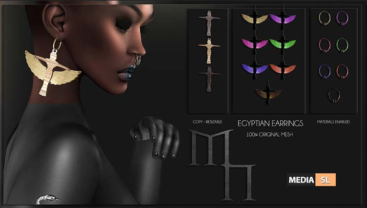 Egyptian Set by Madame Noir @Miix Event – NEW