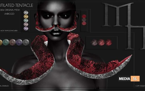 Mutilated Tentacle by Madame Noir @ Aenigma – NEW