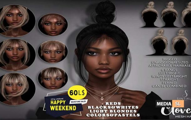Hair Clover 60Ls for happy weekend sale – SALE