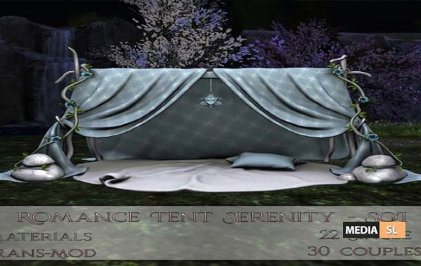 Bloom! – Romance Tent Serenity SOI – NEW DECOR