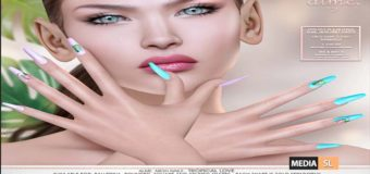 Alme Mesh Nails// Tropical Love – NEW