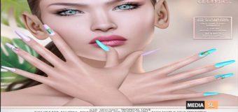 Alme Mesh Nails// Tropical Love – NEW