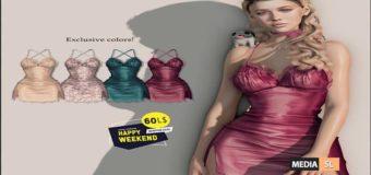 Exclusive colors @60L$ Happy Weekend  – SALE