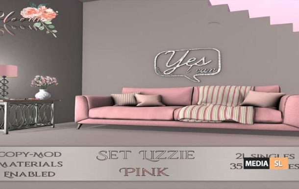 Bloom! – Set Lizzie Pink – NEW DECOR