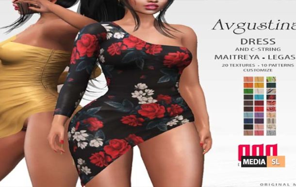 New release – [ADD] Avgustina Dress C-String – NEW