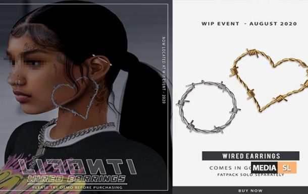 LF. – Wired Earrings @ WIP Event – NEW