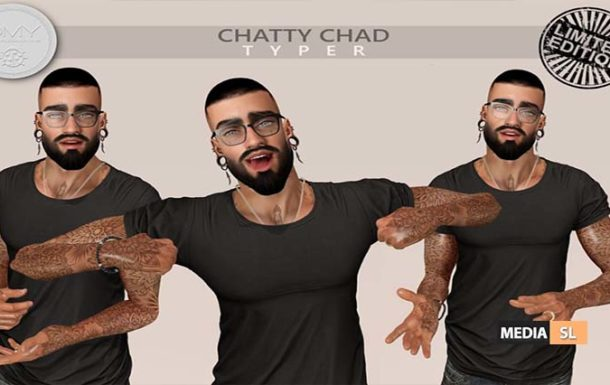 'Chatty Chad' Limited Typer – NEW