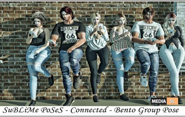 SuBLiMe PoSeS – Connected – Bento Group Pose – NEW