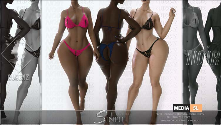Sinful Linger Set – NEW