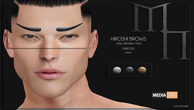 Hiroshi Brows by Madame Noir – NEW MEN
