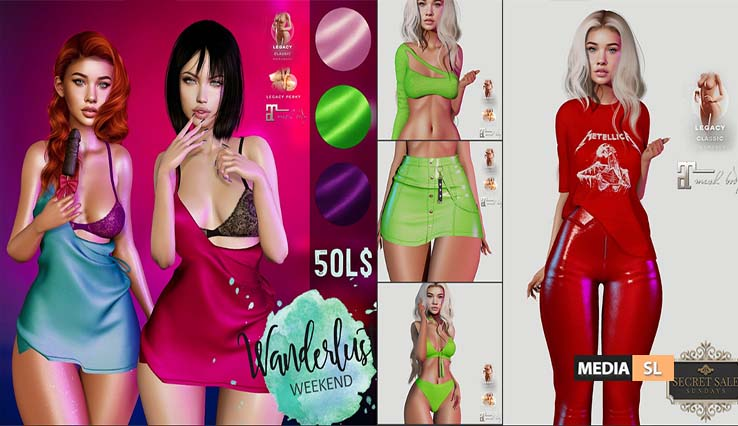 Amataria – All Items 50 lindens – SALE