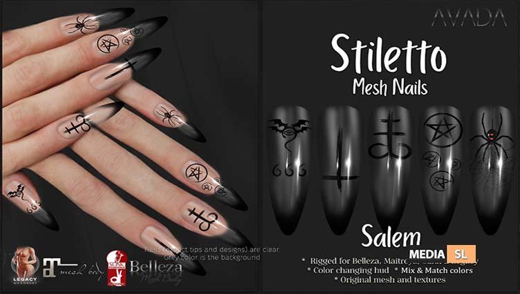 Stiletto Salem Nails – NEW