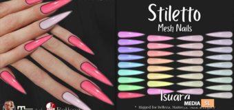 Stiletto Nails Isuara  – NEW