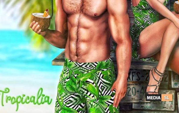 Tropicalia Short – NEW MEN