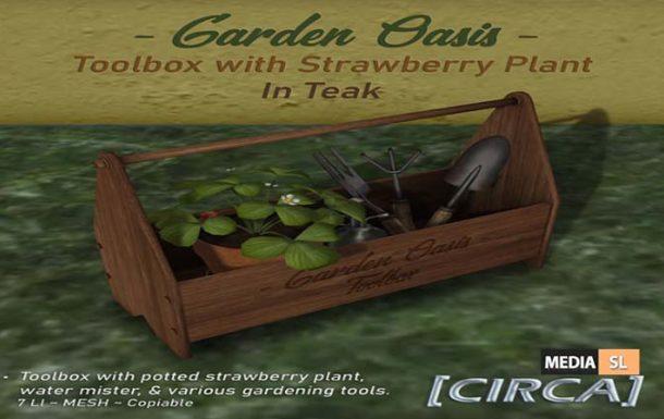 """CIRCA – """"Garden Oasis"""" – NEW DECOR"""