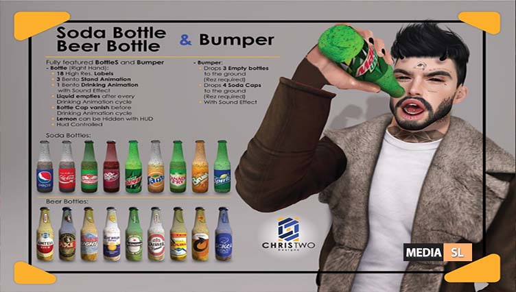 Soda Bottle & Bumper @ MIIX EVENT  – NEW